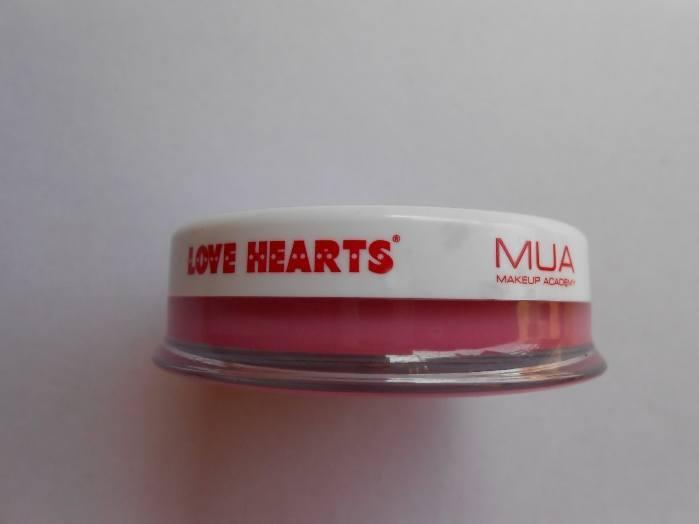 MUA Sugar Lips Love Hearts Lip Balm Review1