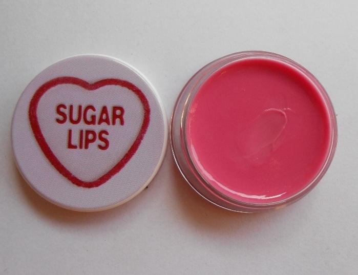 MUA Sugar Lips Love Hearts Lip Balm Review5