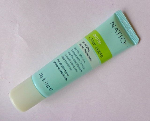 Natio Acne Clear Spots Purifying Spot Treatment