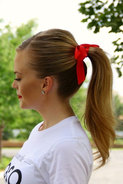 Stylish Ways To Wear Hair Ribbons