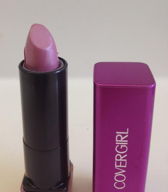 Covergirl Verve Violet Colorlicious Lipstick Review