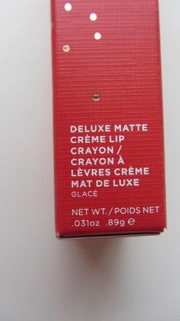 Bite Beauty Glace Deluxe Matte Creme Lip Crayon