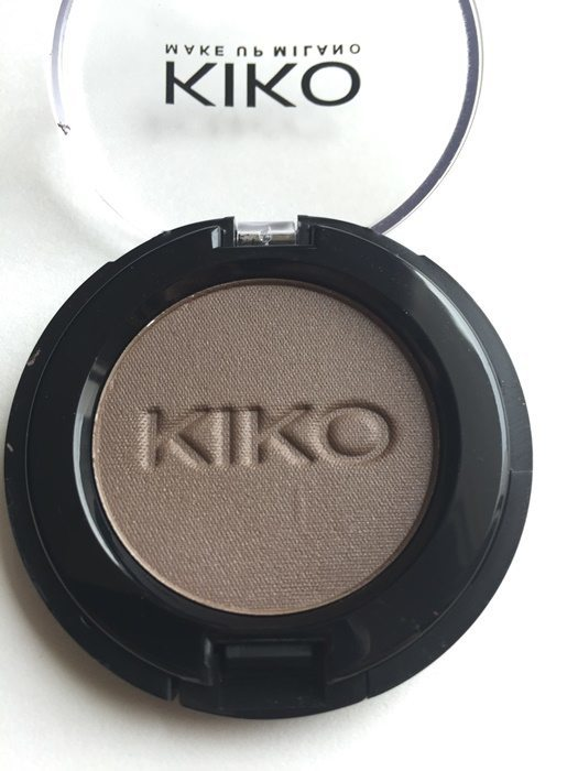 KIKO #123 Satin Wood Brown Ombre A Paupieres Eyeshadow Review