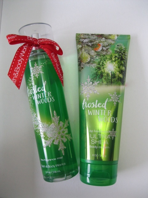 Bath And Body Works Frosted Winter Woods 24 Hour Moisture
