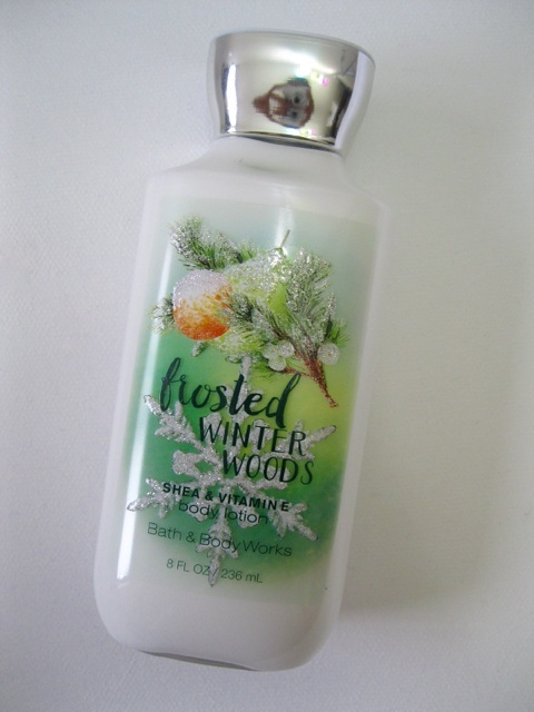 Bath And Body Works Frosted Winter Woods Body Lotion Review