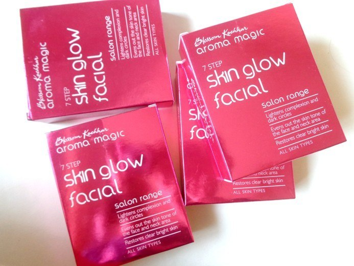 Blossom Kochhar Aroma Magic 7 Step Skin Glow Facial