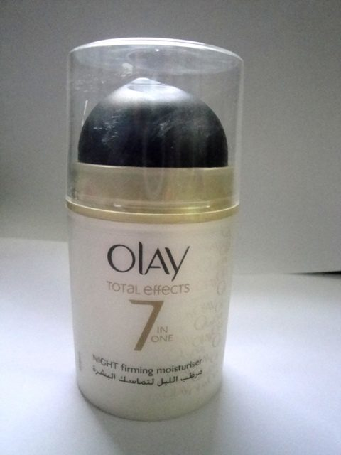 Olay Total Effects 7-in-1 Night Firming Moisturizer Review