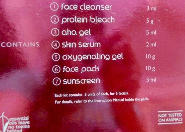 blossom kochhar aroma magic 7 step skin glow facial review2