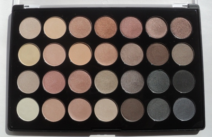 BH Cosmetics Essential Eyes – 28 Color Eyeshadow Palette Review