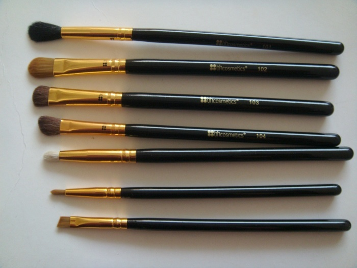 Cosmetics Eye Essential Piece Brush Set