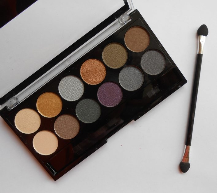 MUA Cosmetics Twelfth Night Eyeshadow Palette Review