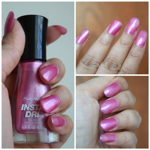 Nail Polish Colors For Younger Looking Hands: 3 Sally Hansen Insta-Dri Nail Colors Review