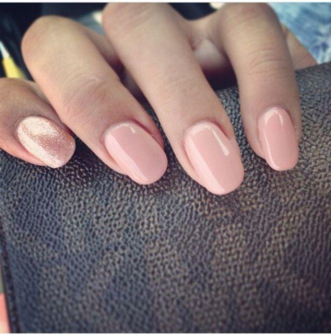 Дизайн коротких ногтей на руках