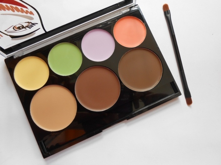 City Color Cosmetics Contour and Correct Cream Palette Review