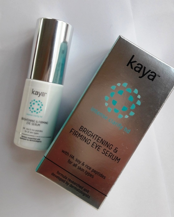 Kaya Brightening and Firming Intense Clarify HD Eye Serum Review