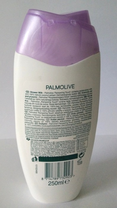 how to use palmolive shower milk