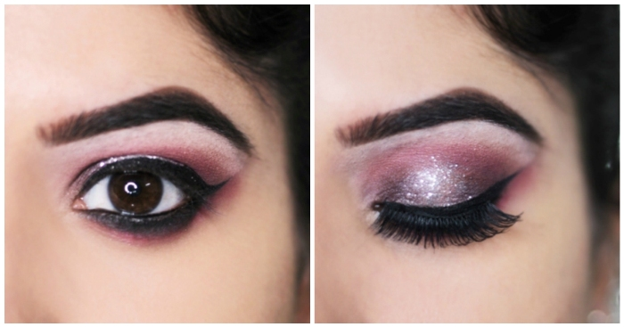 Bridal Eye Makeup Images Step By Step : Step-by-Step Glittery Eye Makeup Tutorial for Wedding ...
