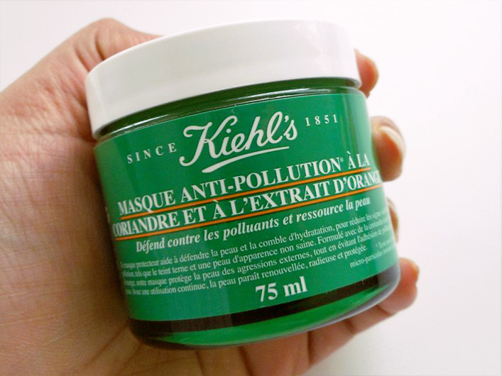 Kiehl's Cilantro and Orange Extract Pollutant Defending Masque Review