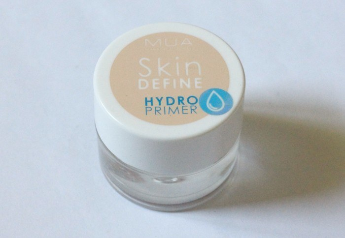 MUA Skin Define Hydro Primer Review