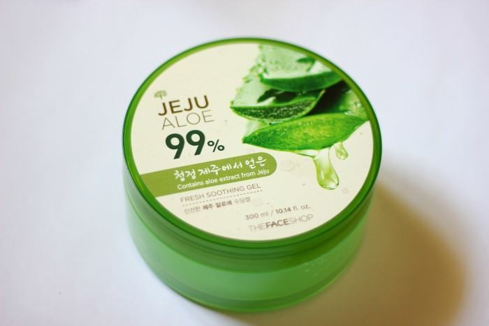 The Face Shop Jeju Aloe Fresh Soothing Gel Review Beauty