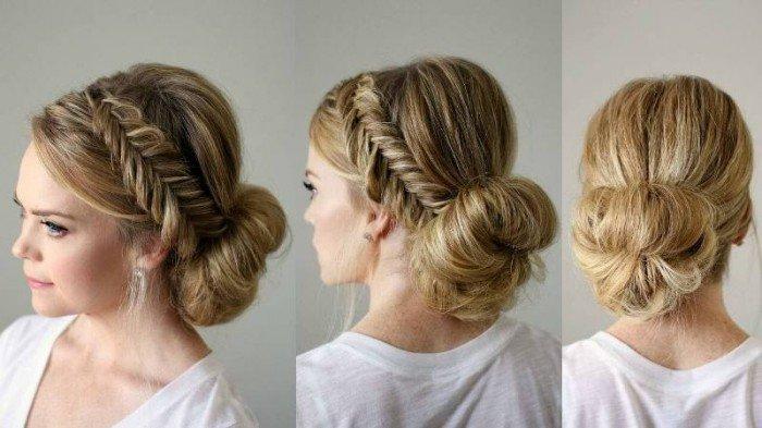 victorian hair updo