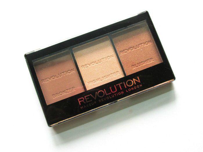 Makeup Revolution Ultra Sculpt and Contour Kit Ultra LightMedium C04 Review