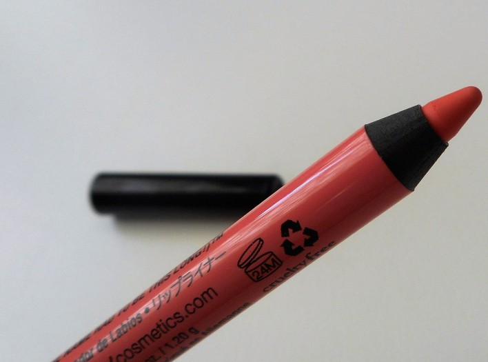 NYX Pink Cantaloupe Slide On Lip Pencil Review