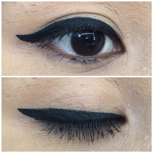 Think, that Winged eyeliner step by step