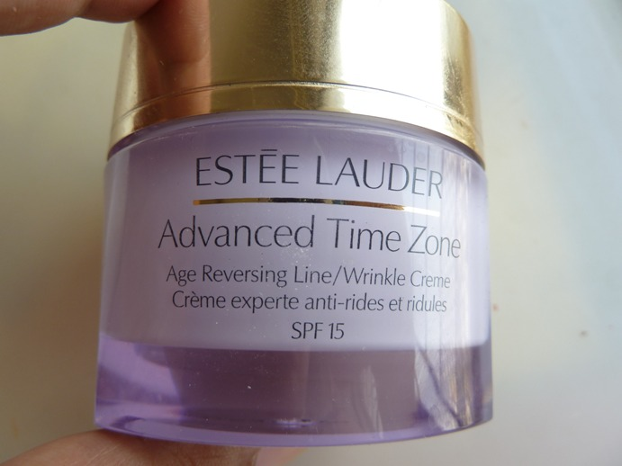 Estee Lauder Advanced Time Zone Age Reversing Line/Wrinkle Creme Review