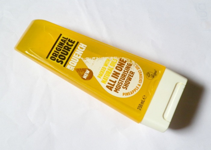 Original Source Skin Quench Pineapple and Coconut Oil All in One Moisturising Shower Gel Review