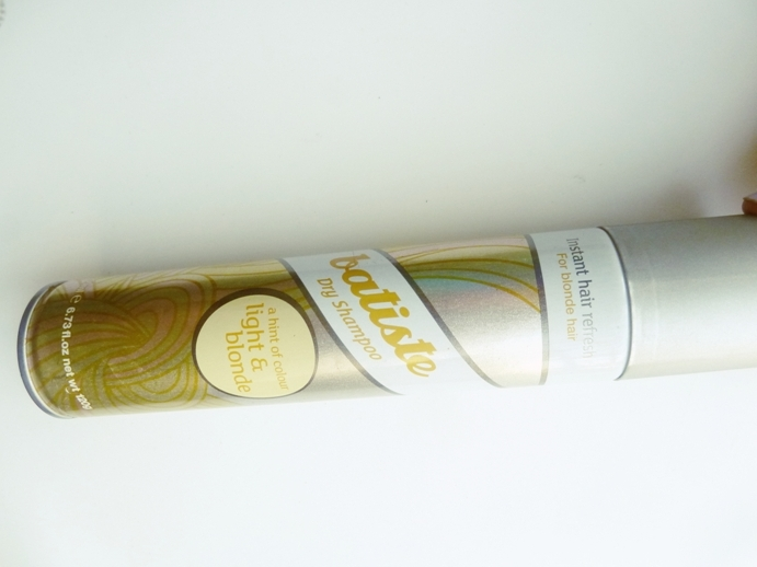Packaging dry shampoo