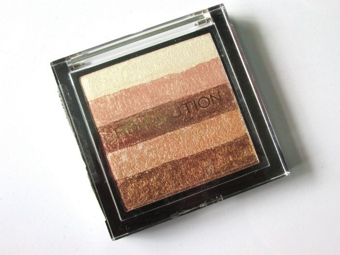 Makeup Revolution London Radiant Shimmer Brick Palette packaging