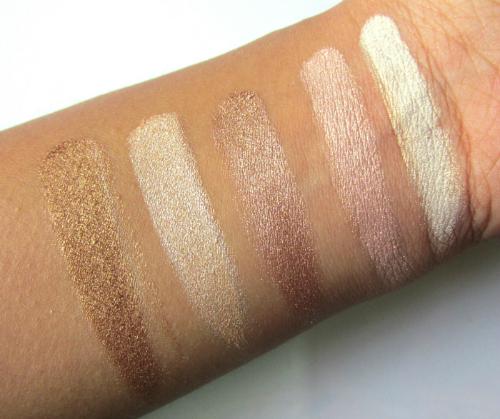 Makeup Revolution London Radiant Shimmer Brick Palette swatch