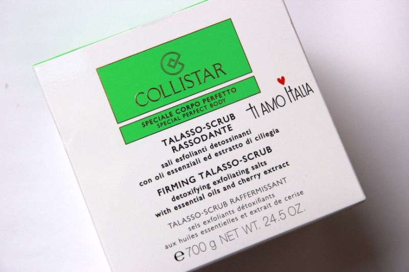Collistar Firming Talasso Scrub Outer Packaging