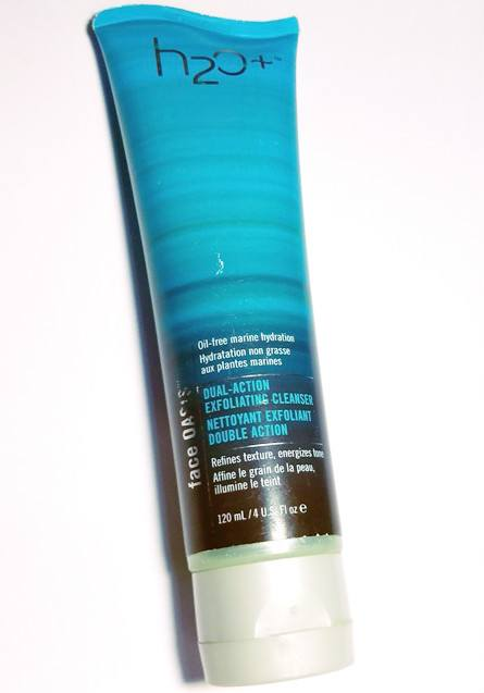 H2O Face Oasis Dual Action Exfoliating Cleanser Review