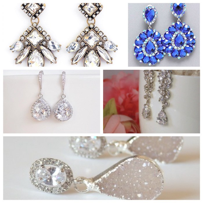 5 Classic Sparkly Earring Designs