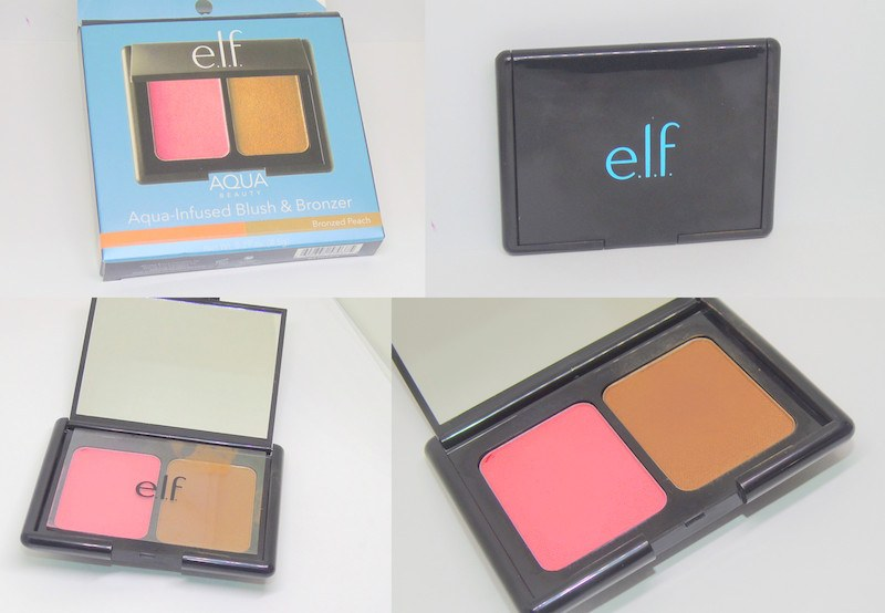 ELF Aqua Infused Blush and Bronzer Bronzed Peach