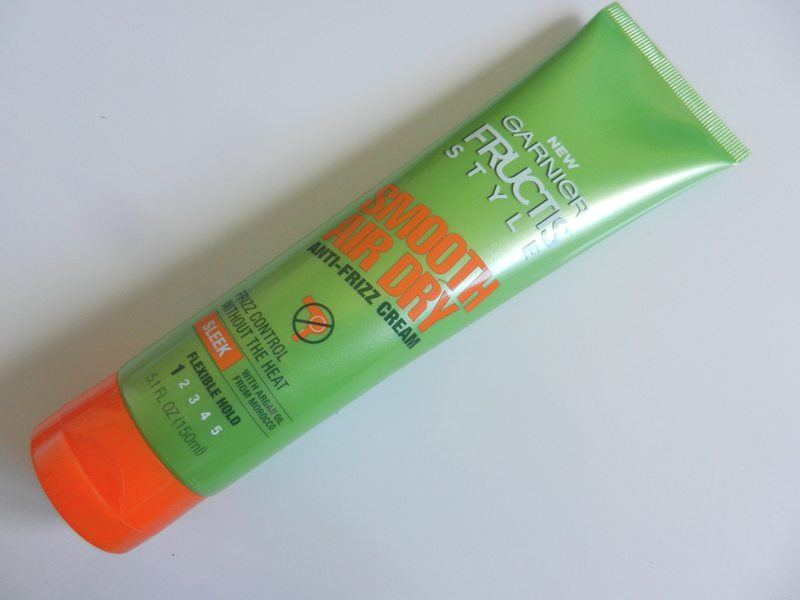 Garnier Fructis Style Smooth Air Dry Anti Frizz Cream Review