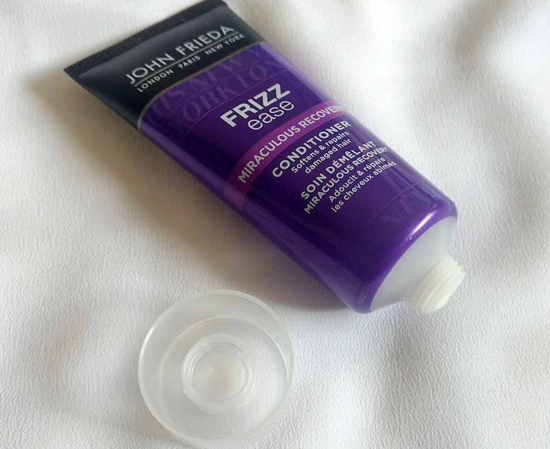 John Frieda Frizz Ease Miraculous Recovery Conditioner open