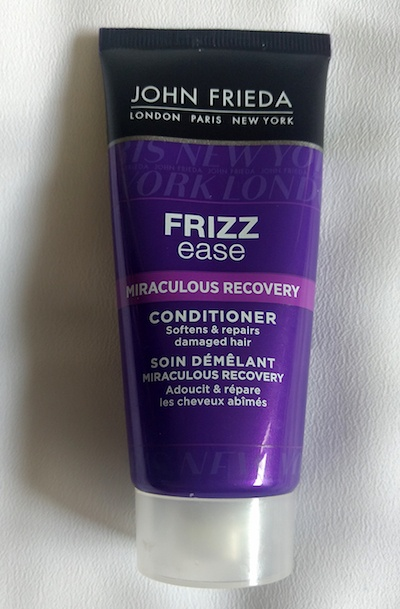 John Frieda Frizz Ease Miraculous Recovery Conditioner tube
