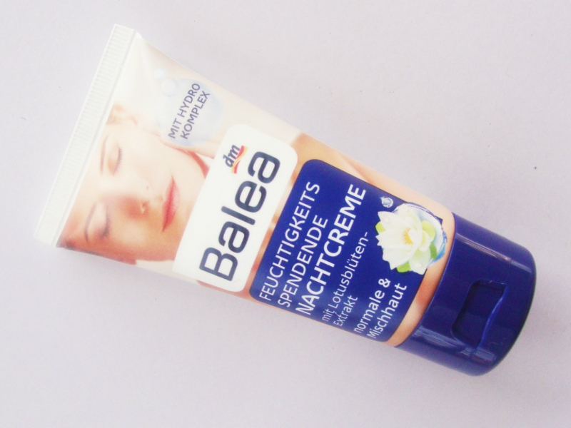 Balea Moisturizing Night Cream for Normal to Combination Skin Review