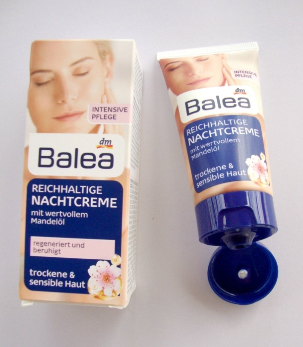 Balea Rich Night Cream for Dry and Sensitive Skin Review