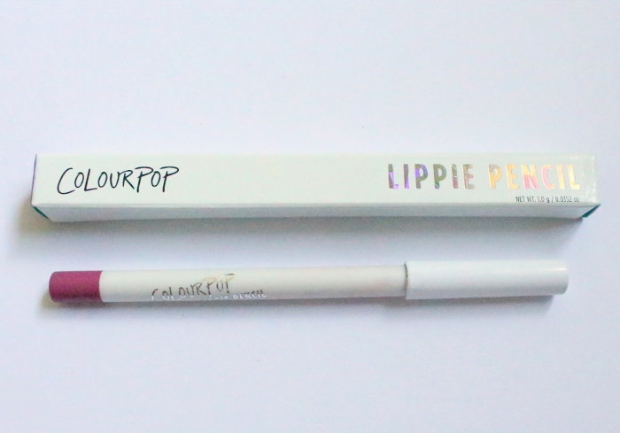 ColourPop Lippie Pencil Lip Liner Bound Review