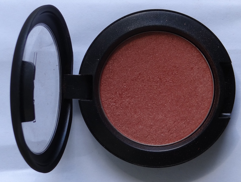 MAC Peachtwist Sheertone Shimmer Blush Review