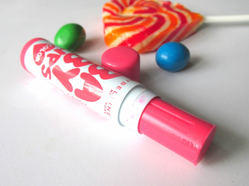 Maybelline Baby Lips Color Candy Rush Lip Balm Cotton Candy Review