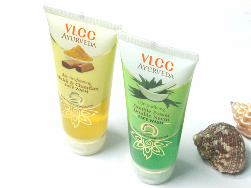 VLCC Ayurveda Skin Purifying Double Power Double Neem Facewash Review