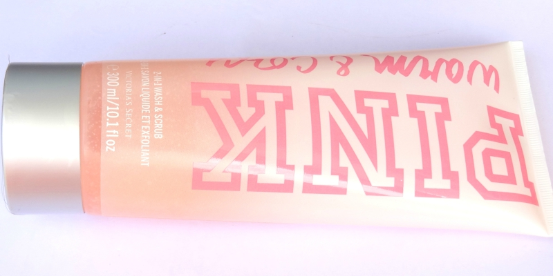 Victoria's Secret Pink Warm and Cozy 2-in-1 Wash and Scrub Review