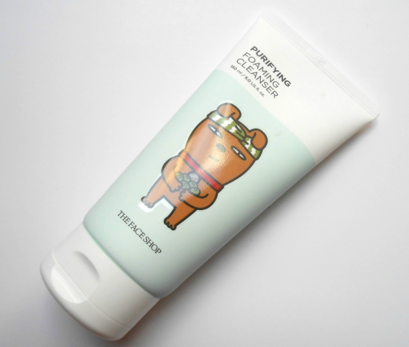 The Face Shop Purifying Foaming Cleanser - Frodo Review